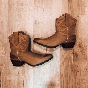 Cowgirl Booties! Worn once